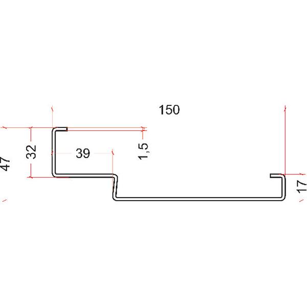 PN150 laminowana w strukturze drewna (tylko 80N)