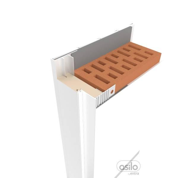 ASILO-DMK ukryta do ściany murowanej obłożonej jednostronnie kafelkami